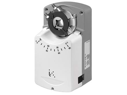 Electric actuators for VF valves series