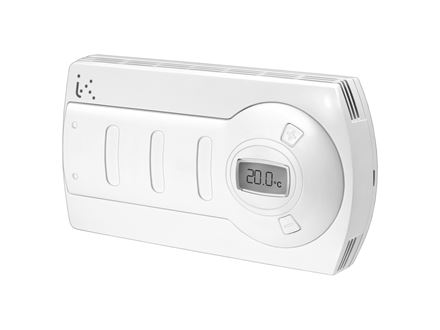 Discontinued - Room thermostats with automatic speed and economy function